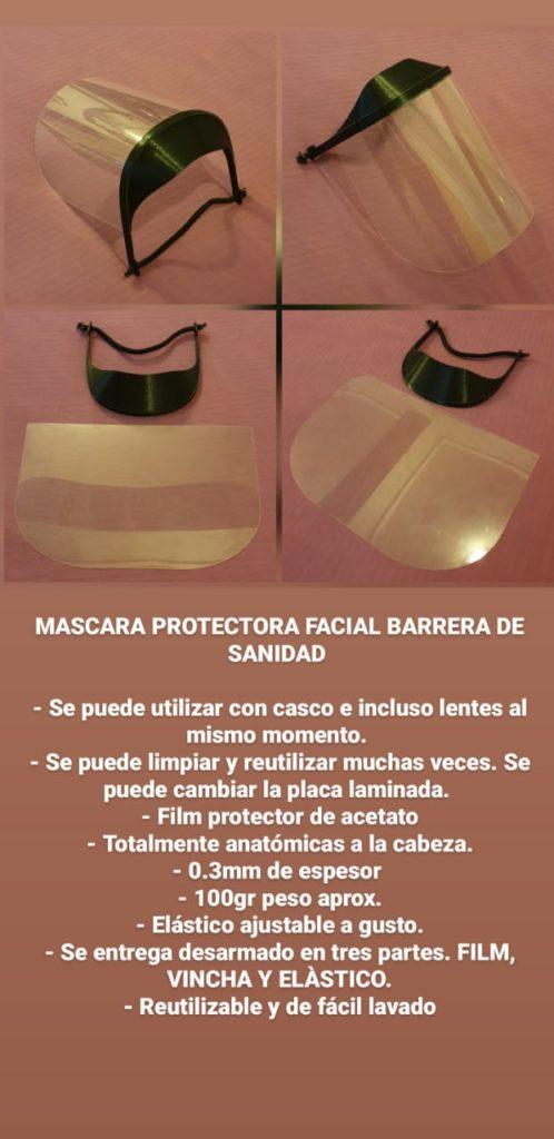 mascarilla protectora facial